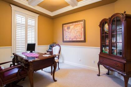 Main office den at 3756 Winsford Court, Government Road, Burnaby North