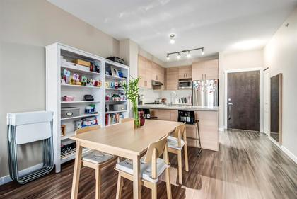 dining-area at #407 - 1150 Kensal Place, New Horizons, Coquitlam