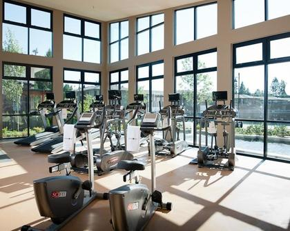gym at #407 - 1150 Kensal Place, New Horizons, Coquitlam