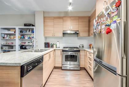 kitchen at #407 - 1150 Kensal Place, New Horizons, Coquitlam