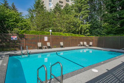 outdoor-swimming-pool at #1703 - 7321 Halifax Street, Simon Fraser Univer., Burnaby North