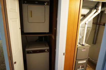 Laundry for Inlaw Suite at 2184 Crescent Drive, Valleyview, Kamloops
