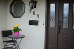 Front entry at 965 Laurel Place, Aberdeen, Kamloops