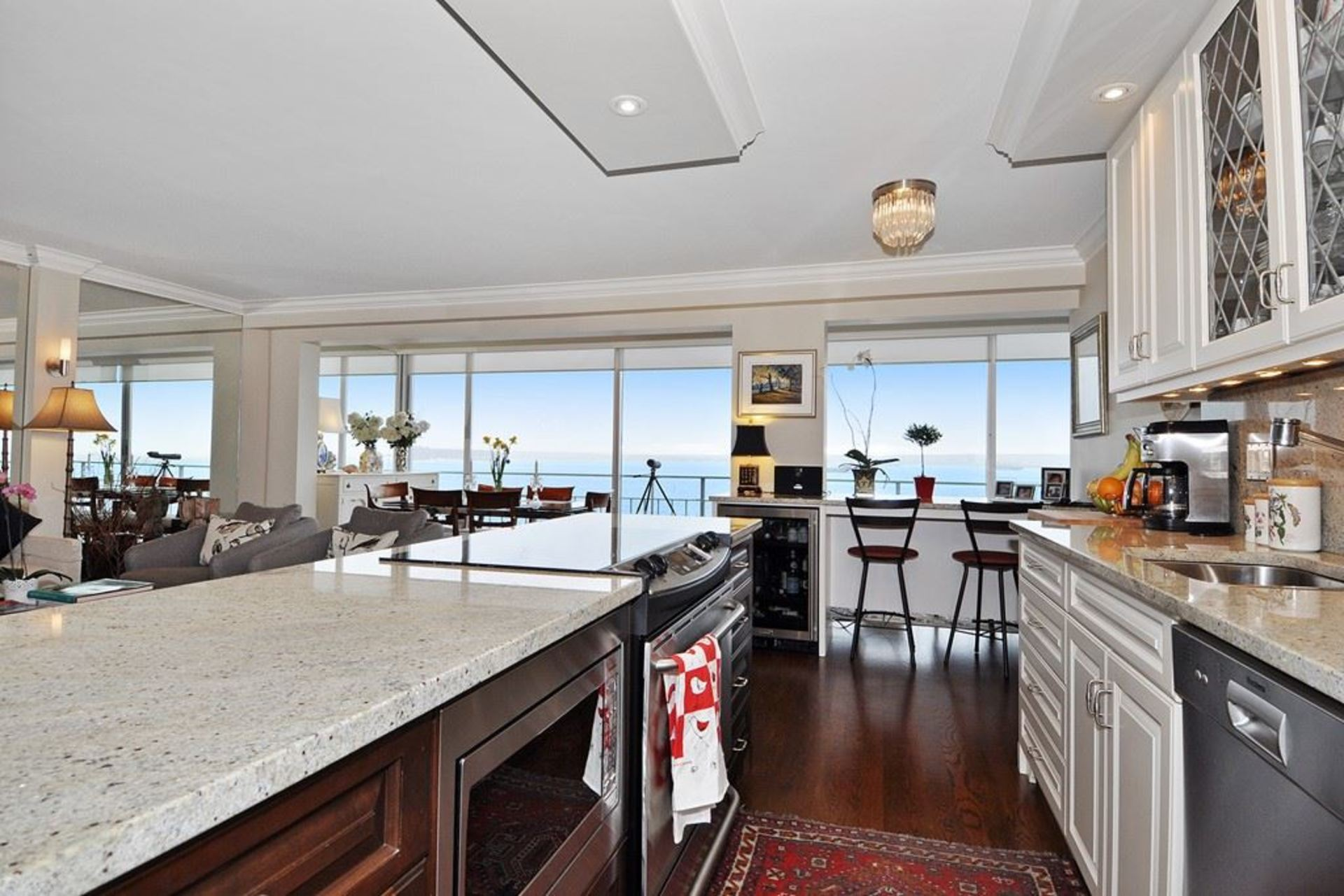 Kitchen at 603 - 150 24th, Dundarave, West Vancouver