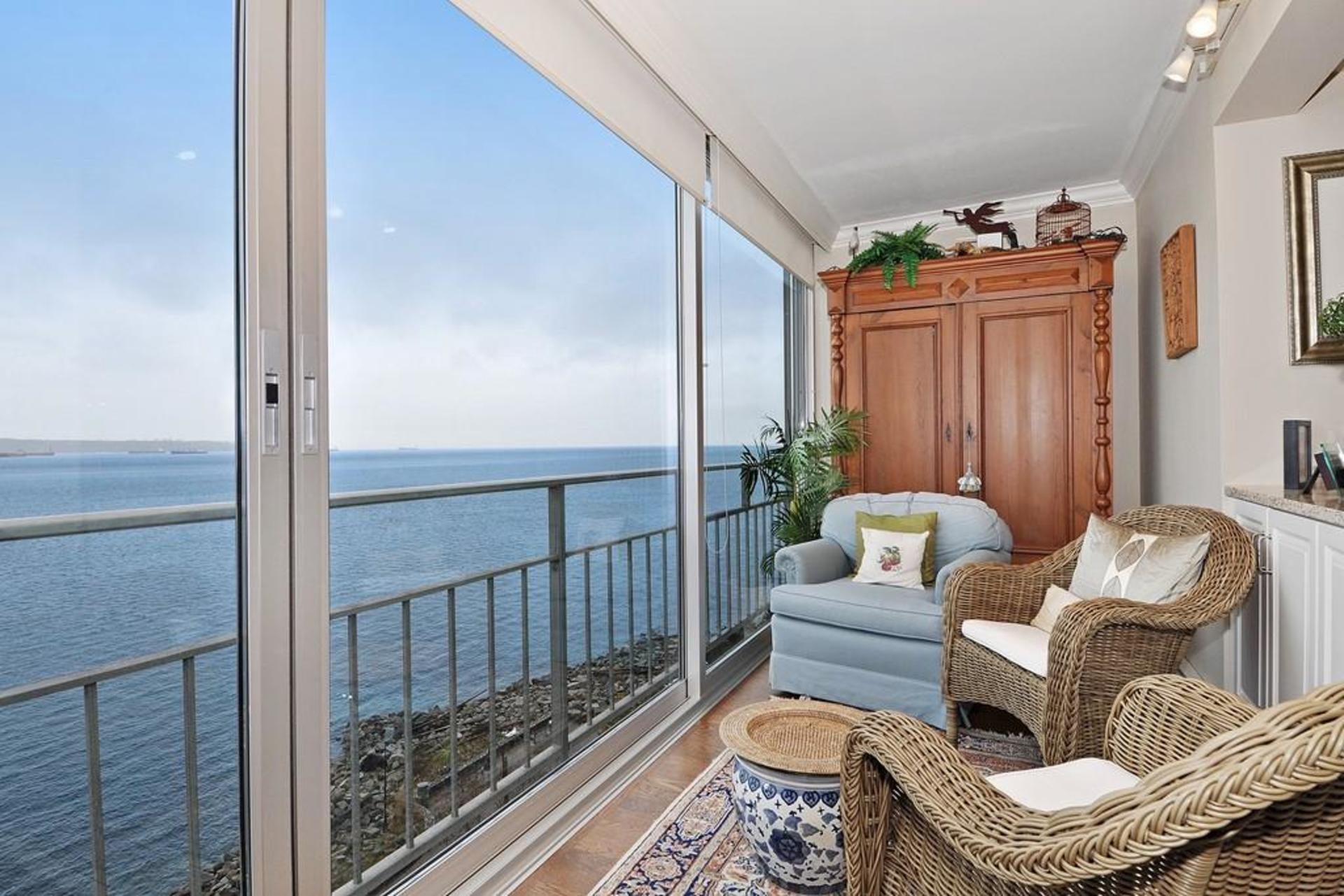 Balcony at 603 - 150 24th, Dundarave, West Vancouver