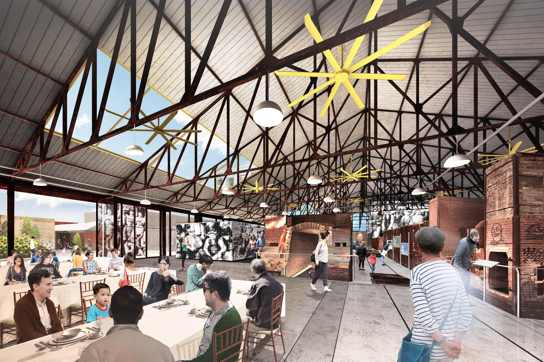 EllisDon begins redevelopment of historic kiln building at