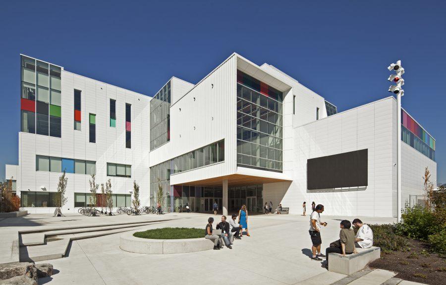 Emily Carr University, image via Diamond Schmitt Architects