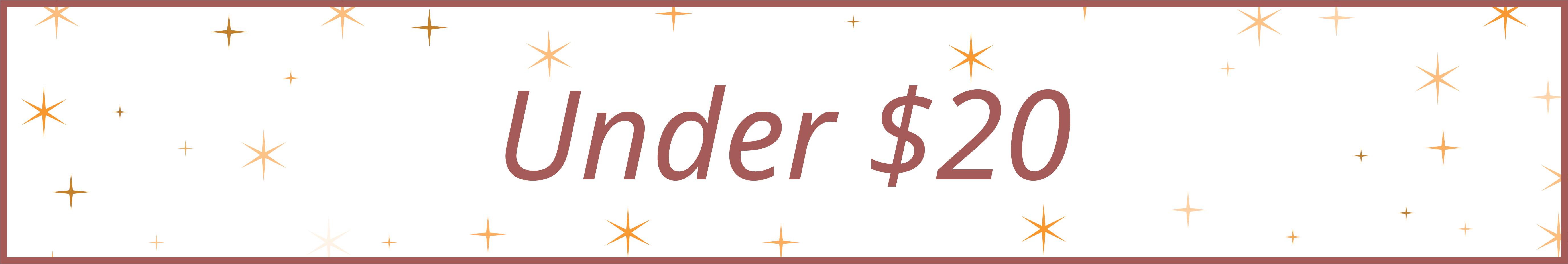 Shop Gift ideas under $20