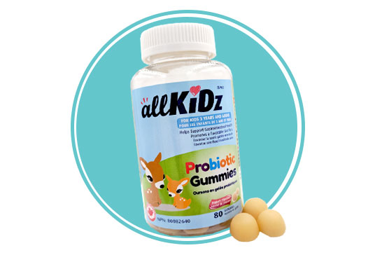AllKidz Naturals Probiotic Gummies