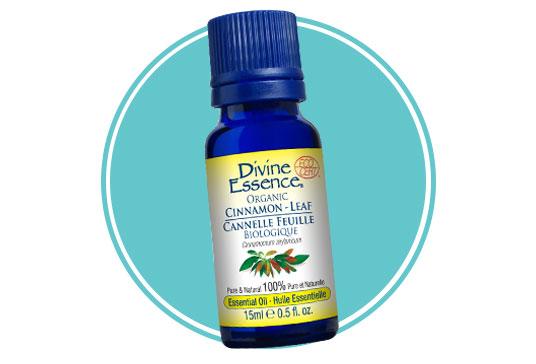 Divine Essence Organic Cinnamon Leaf Essential Oil