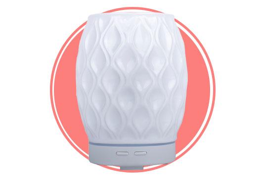 Divine Essence AromaVase Nebulizer, White