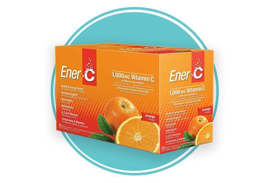 Ener-C Multivitamin Drink Mix Orange