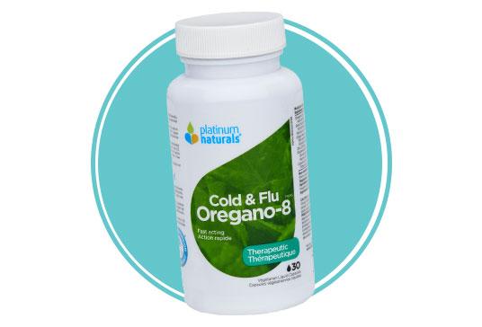 Platinum Naturals Oregano-8 Cold & Flu