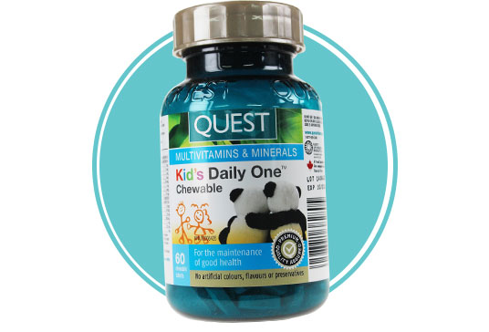 Quest Kid's Daily One Chewable Multivitamins