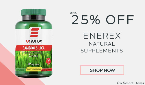 Up To 25% Off Enerex Natural Supplements