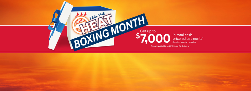December Feel The Heat Boxing Month Microsite Banners Carousels EN