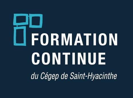 Cegep St Hyacinthe Logo FC vertical inverse