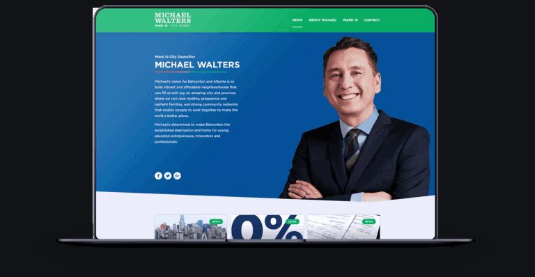 Michael Walters Edmonton Website Design