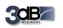 3dB Research logo