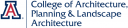 UA College of Architecture logo