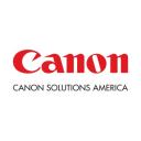 Canon Solutions America, a Canon Company logo