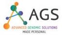 Advanced Genomic Solutions (AGS) logo