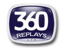 360 Replays logo