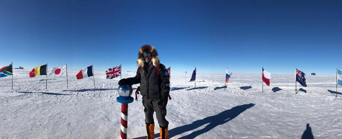 Jeudi 4 mai à l'émission Ici et Ailleurs de 10 à 11 hres : Un exploit hors du commun au Pôle Sud
