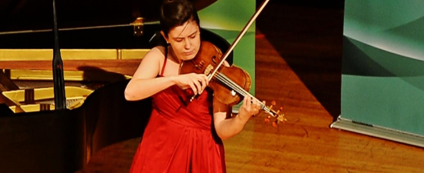 Ce dimanche 11 juin à 15h00, Marie Bégin au violon accompagné au piano de Samuel B. Gagnon en concert