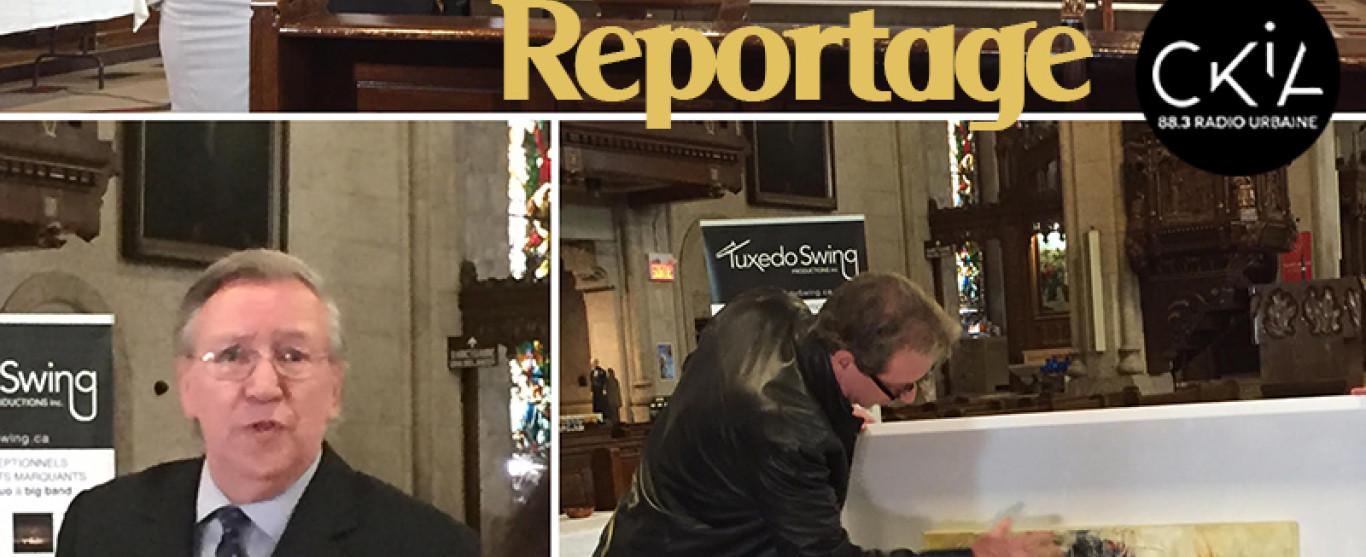 REPORTAGE: Campagne de financement de l'Église Saint-Roch