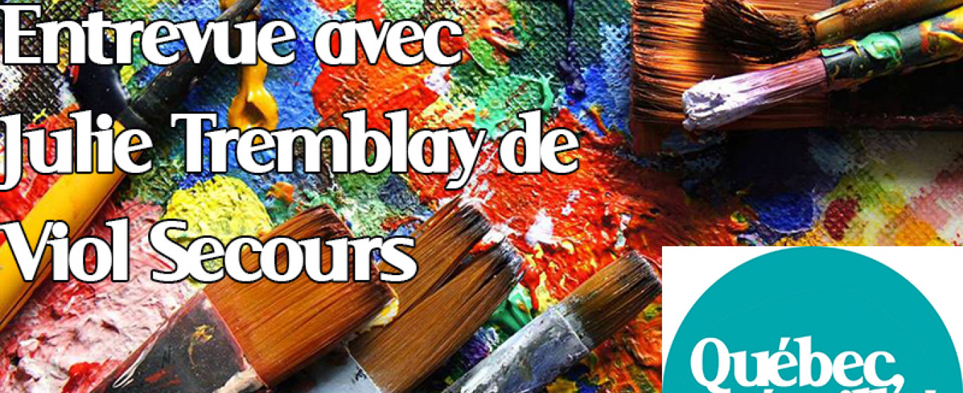 ENTREVUE: Julie Tremblay, Viol Secours