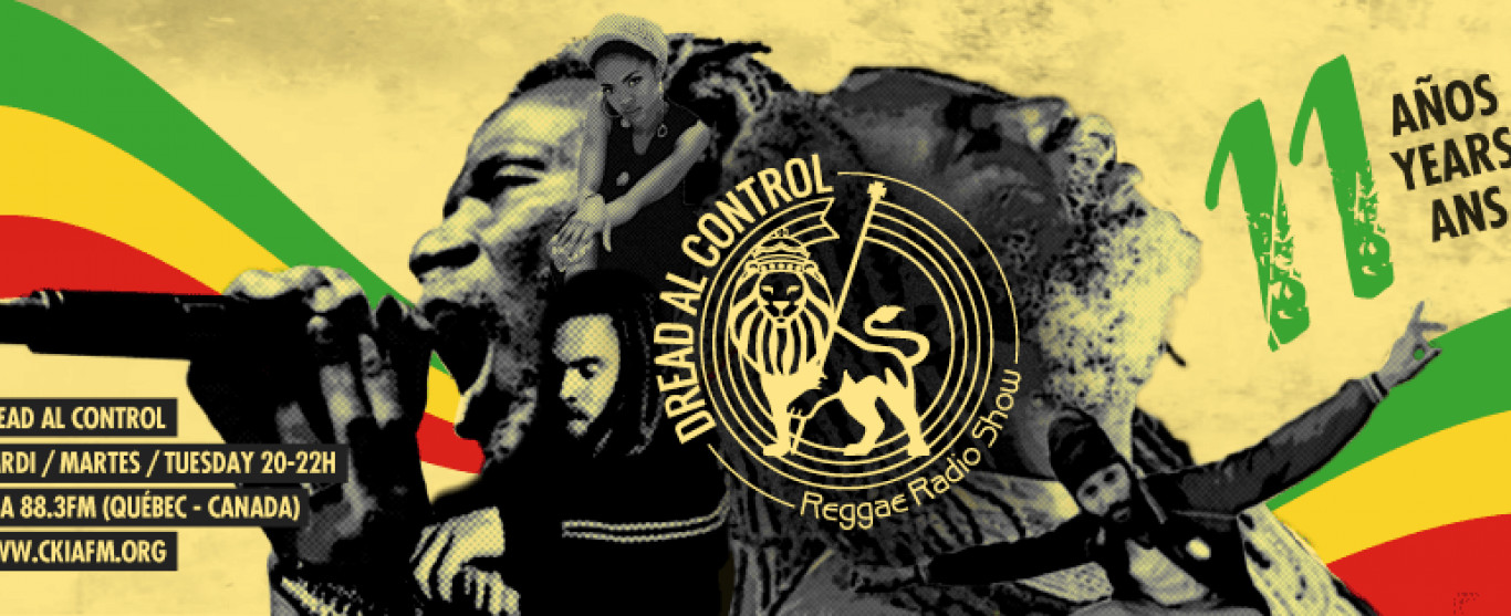 Playlist Dread Al Control Reggae Radio Show 26-09-2017