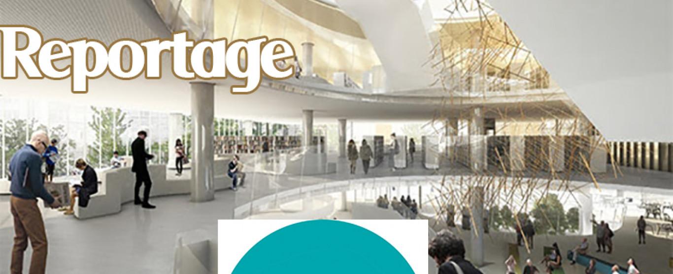 REPORTAGE: Rénovations de la Bibliothèque Gabrielle-Roy