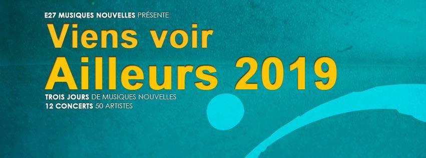Le 24 avril : L'événement « Viens voir ailleurs 2019 » et Aurélien Betch pour les « Rendez-vous Classiques »