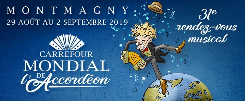 Au Voyage Imaginaire le mardi 20 août : Carrefour mondial de l'accordéon de Montmagny