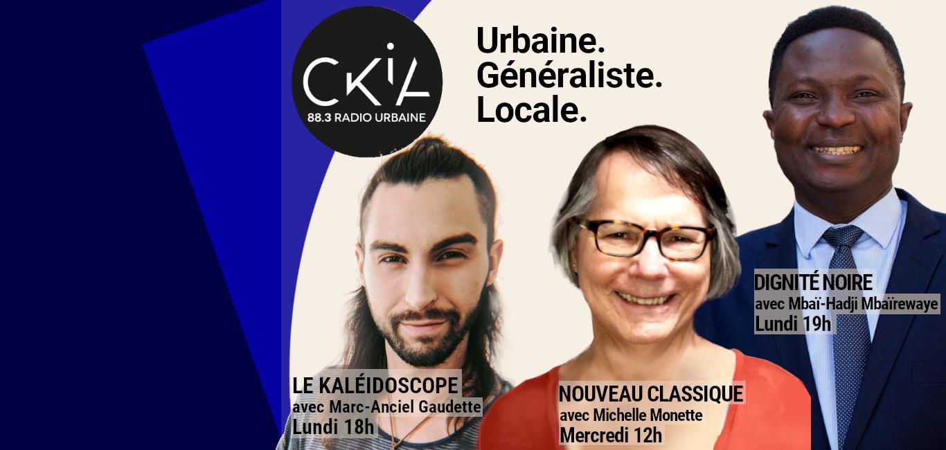 CKIA FM 88.3 Radio généraliste et urbaine