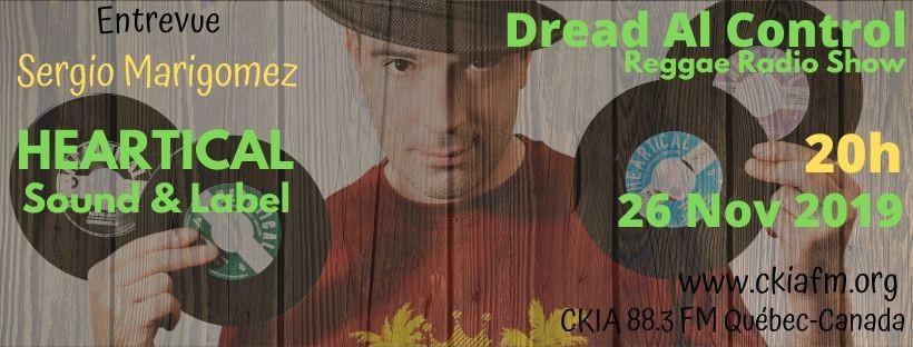 Playlist Dread Al Control Reggae Radio Show 26-11-2019