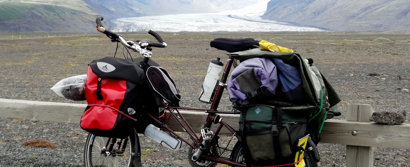 Ce jeudi 6 octobre 10h à l'émission Ici et Ailleurs : Islande à vélo