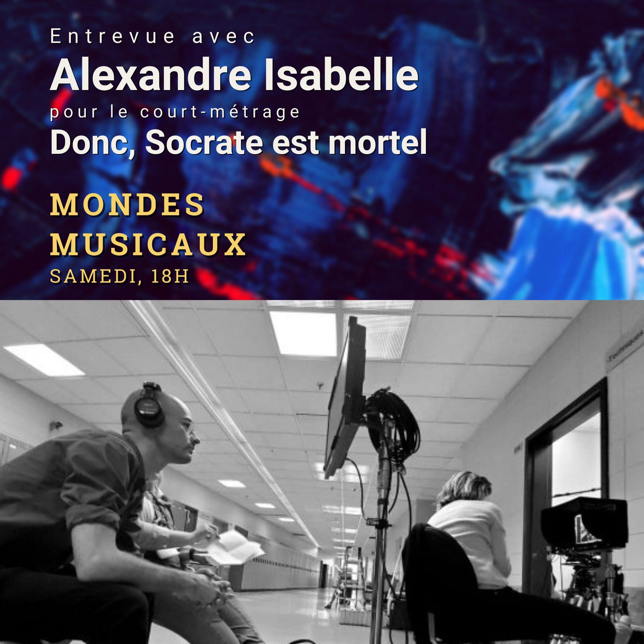 Le dernier court métrage d'Alexandre Isabelle
