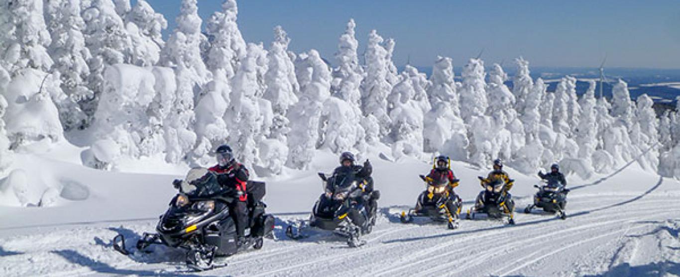 À Ici et Ailleurs ce jeudi 16 février dès 10h00 : Le Québec à motoneige