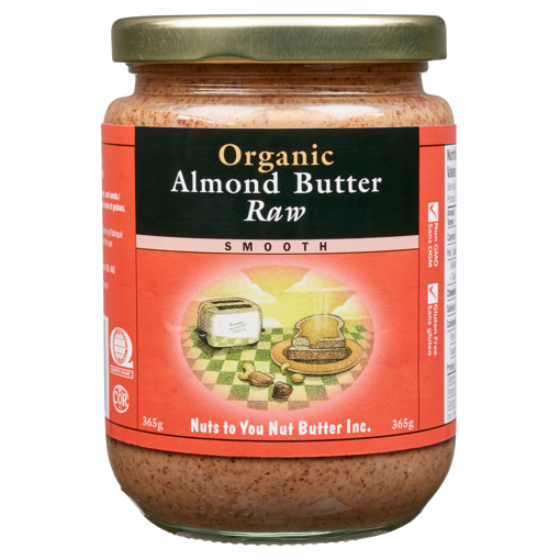 Picture of Organic Almond Butter - Raw - 365 g