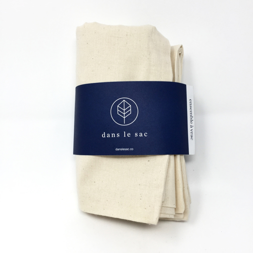 Picture of Bulk Bags Cotton Bags - 2 count