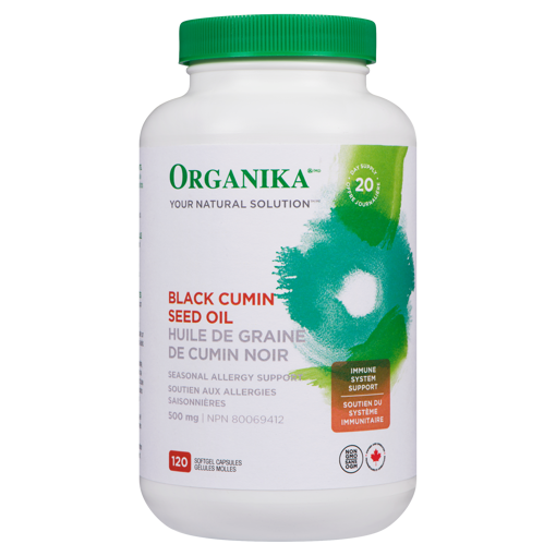 Picture of Black Cumin Seed Oil - 500 mg - 120 soft gels