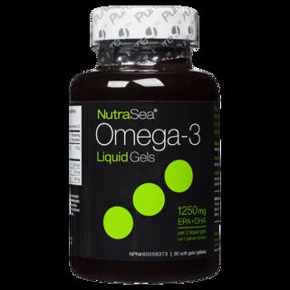 Picture of Omega-3 - Mint 1,250 mg EPA + DHA - 60 soft gels