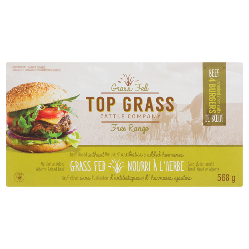 Picture of Beef Burger Grass Fed - 568 g