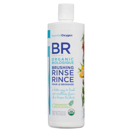 Picture of Organic Brushing Rinse - Peppermint - 473 ml