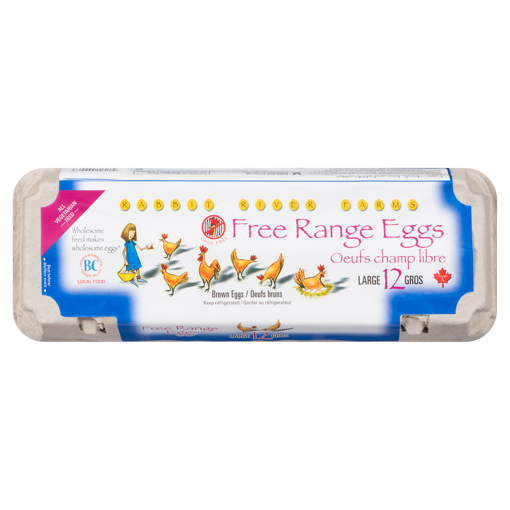 Picture of Free Range Large Eggs - 12 count