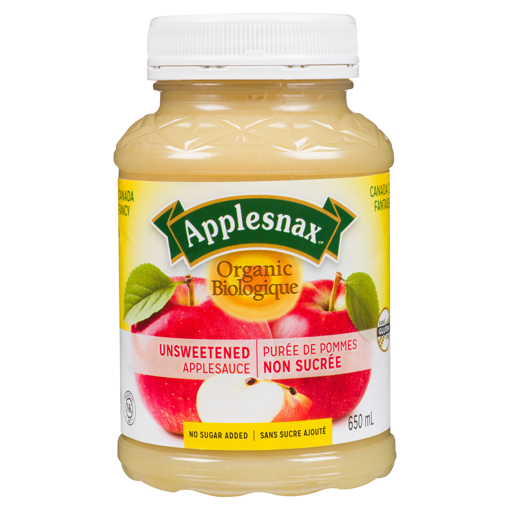 Picture of Apple Sauce - Organic Unsweetened - 650 ml
