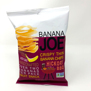 Picture of Crispy Thin Banana Chips - Hickory BBQ - 50 g