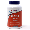 Picture of GABA - 500 mg - 200 veggie capsules